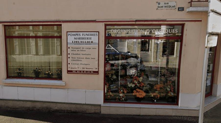 Photographie Pompes Funèbres Lhuillier Galichet de Beaumont-le-Roger