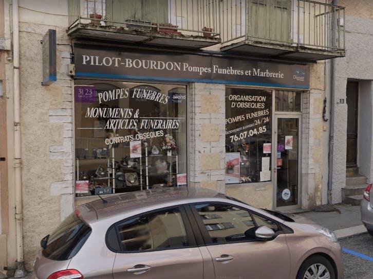 Photographie de la Pompes Funèbres et Marbrerie Pilot Bourdon à Tullins