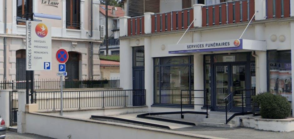 Photographie de la Pompes Funèbres Générales à Aix-les-Bains