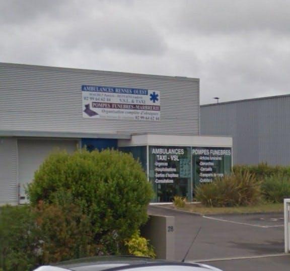 Photographies des Pompes Funèbres Rennes Ouest à Saint-Gilles