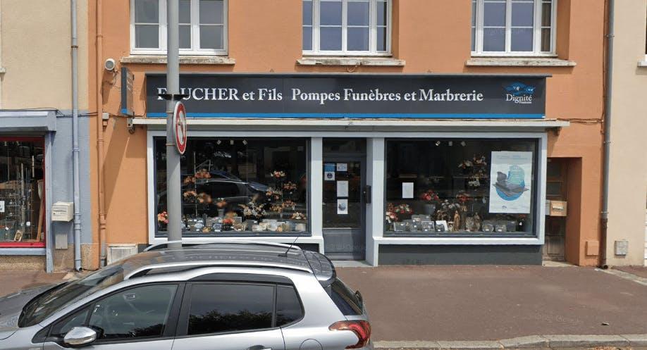 Photographie de la Pompes Funèbres et Marbrerie Foucher & Fils à Périers