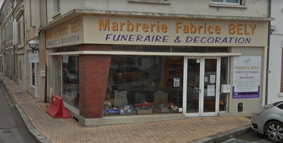 Photographie de la Pompes Funèbres et Marbrerie Fabrice Bely à Valence