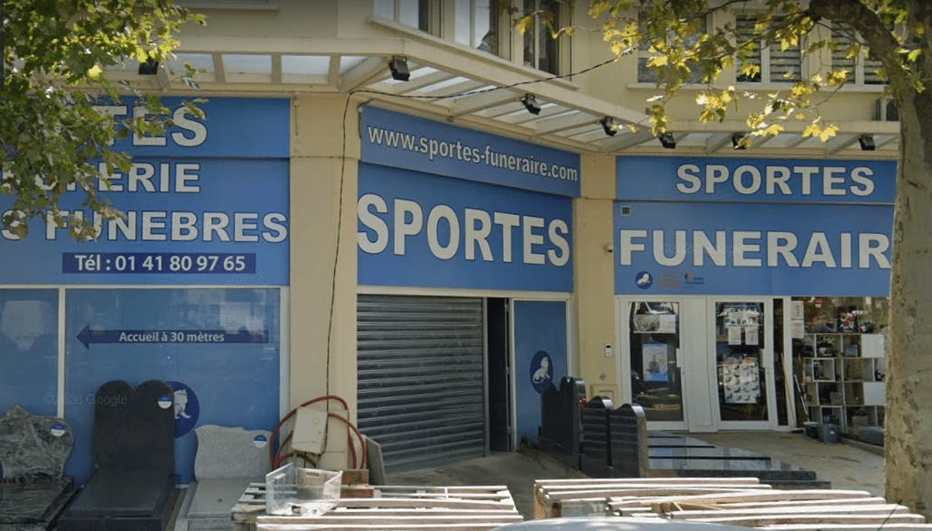 Photographie Pompes Funèbres Sportes à Thiais
