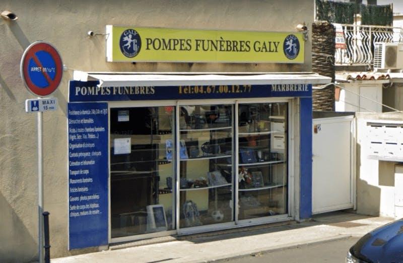 Photographie de la Pompes Funèbres Galy à Agde