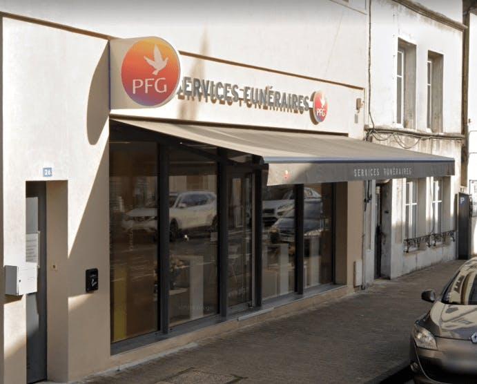 Photographie de la Pompes Funèbres Générales à Belleville-en-Beaujolais
