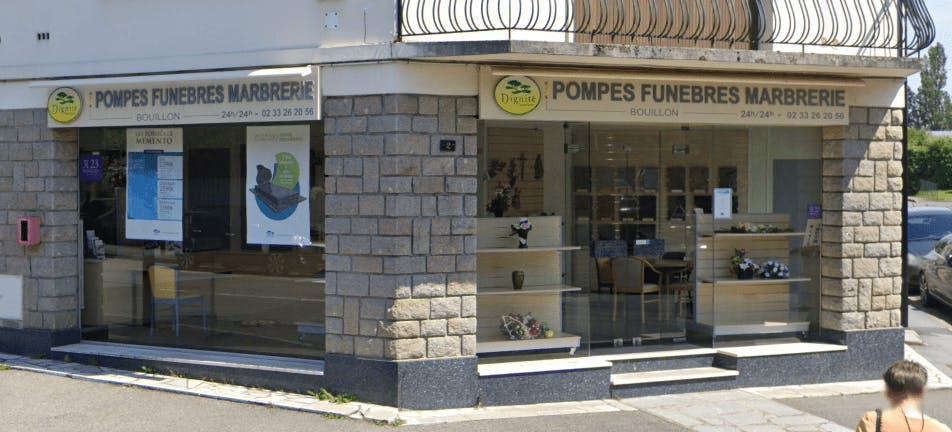 Photographie de la Pompes Funèbres et Marbrerie Bouillon à Alençon