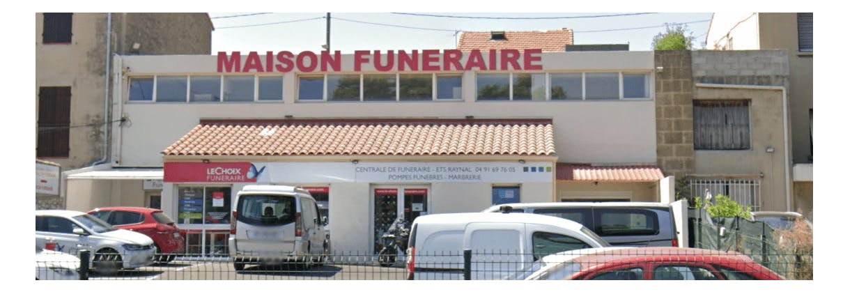 Photographie de la Pompes funèbres Centrale de Funéraire à Marseille