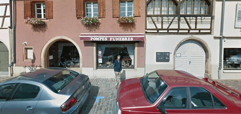Photographie de la Pompes Funèbres Miesch-Schaeffer à Rouffach