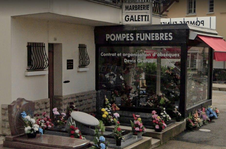 Photographie Pompes funèbres Galetti de Lons-le-Saunier