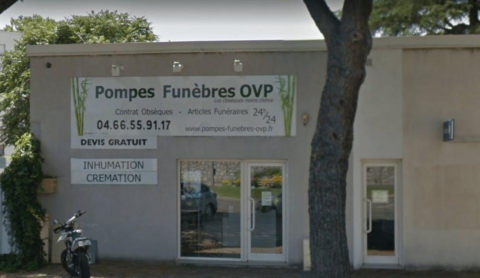 Photographie de la Pompes Funèbres OVP à Alès