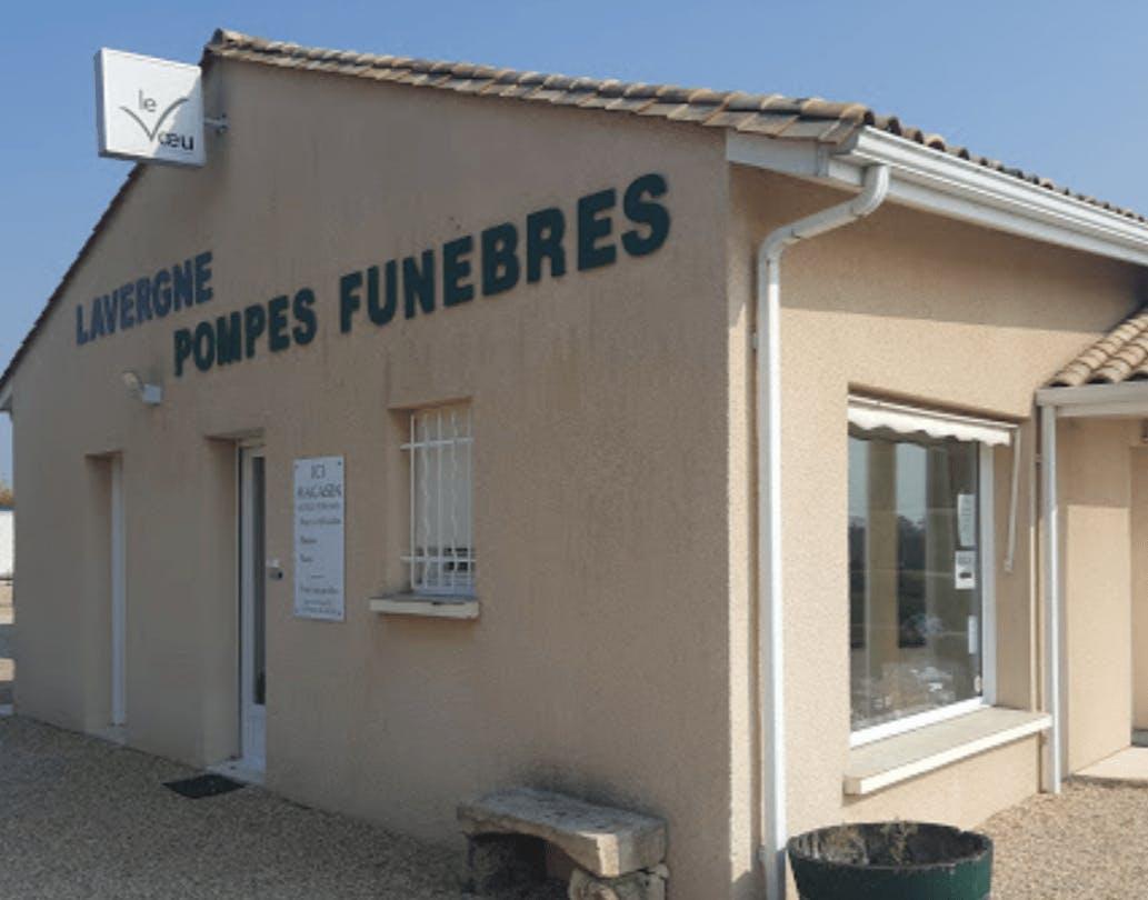 Photographie de la Pompes Funèbres Lavergne de Montussan