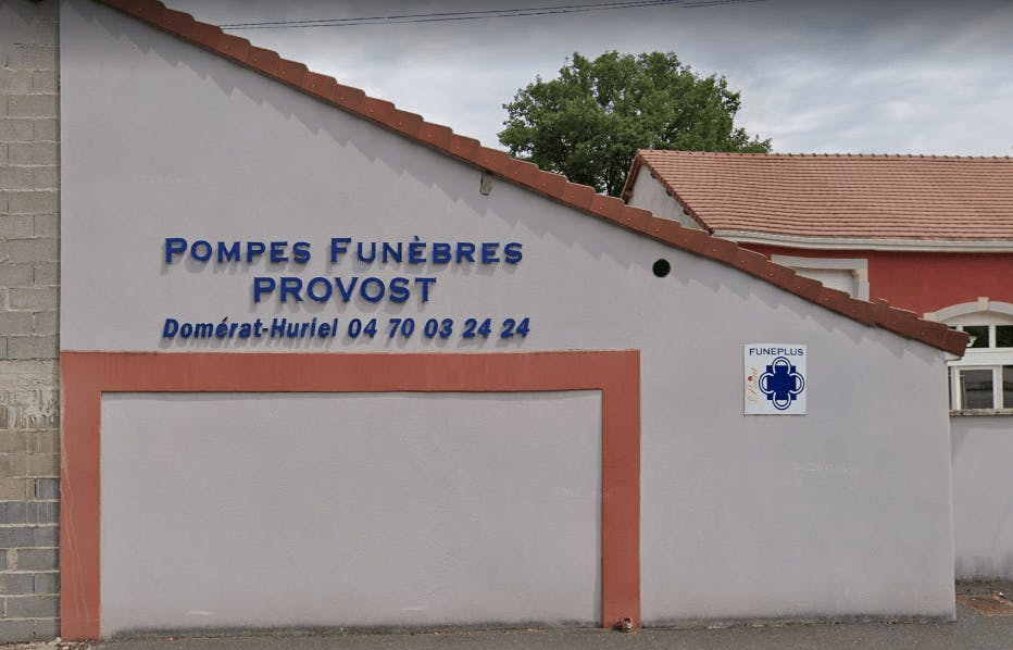 Photographie Pompes Funèbres et Marbrerie Provost de Domérat