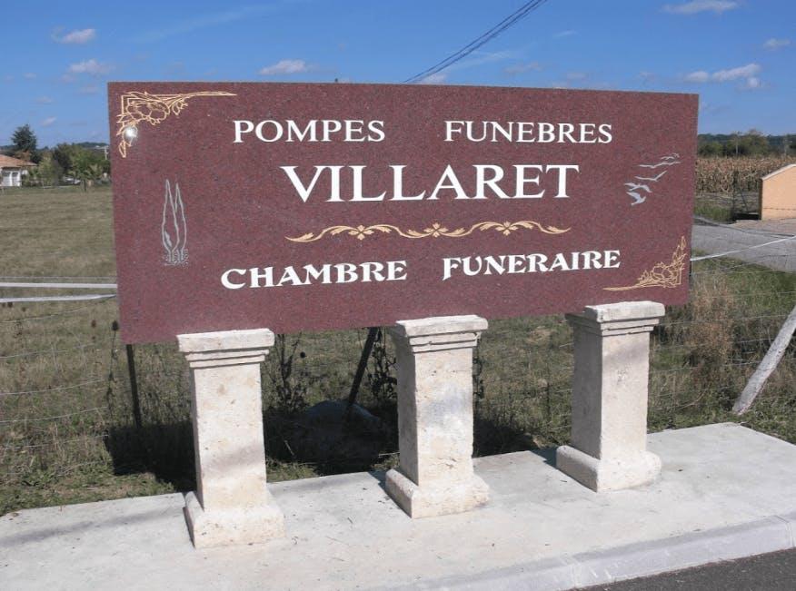 Photographie Pompes Funèbres Villaret de Brax