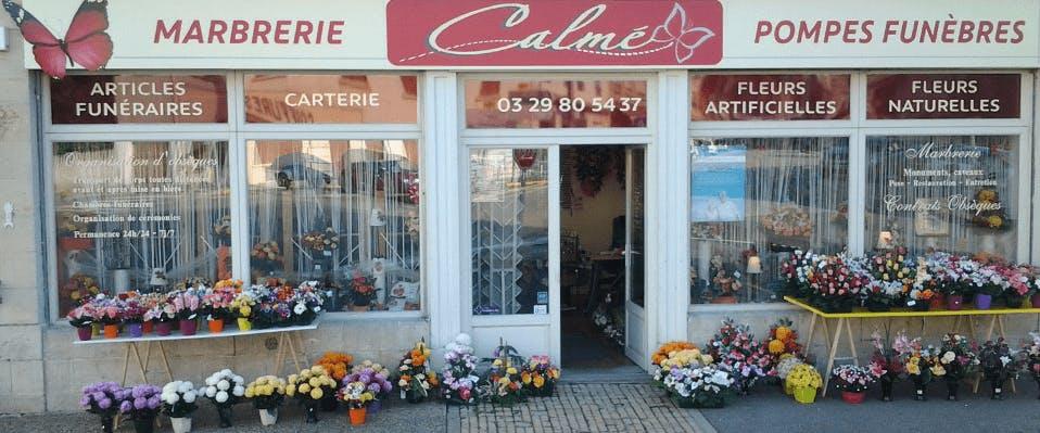Photographie Pompes Funèbres Calmé de Clermont-en-Argonne
