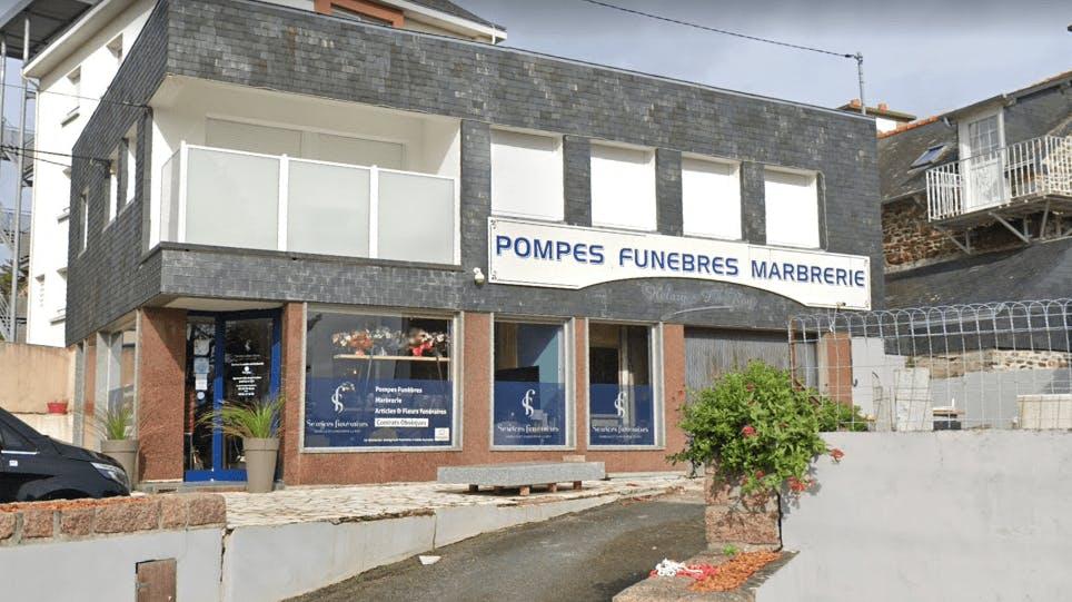 Photographie de la Pompes Funèbres Helary le Roy à Saint-Quay-Portrieux