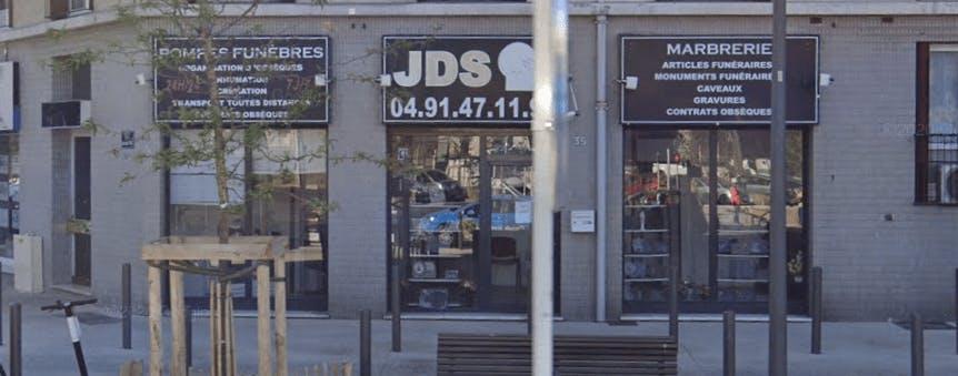 Photographie de la Pompes Funèbres JDS à Marseille
