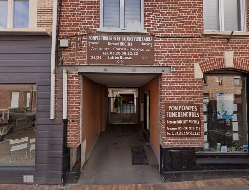Photographies des Pompes funèbres Bernard Buchet à  Sainghin-en-Weppes
