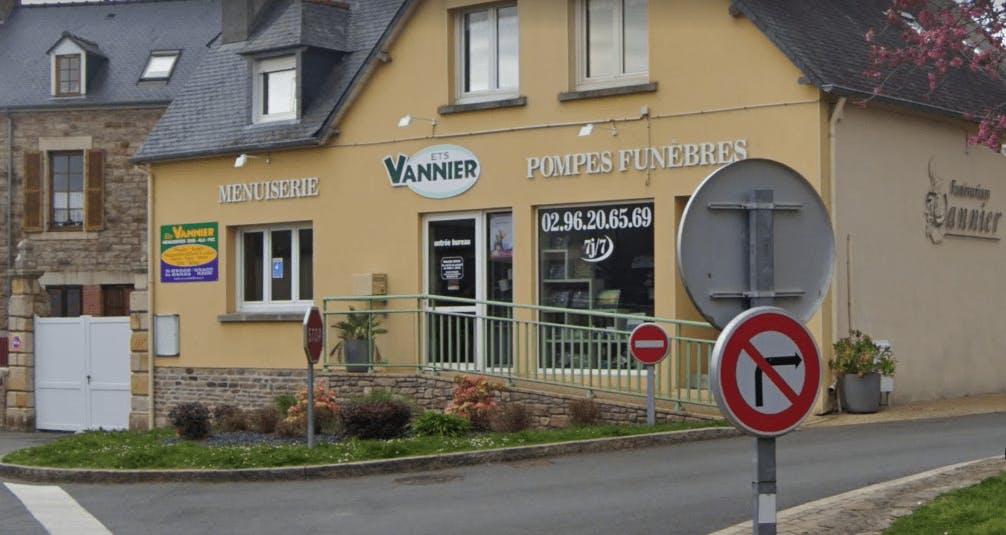 Photographie de la Pompes Funèbres Vannier Legrand  à Plouézec