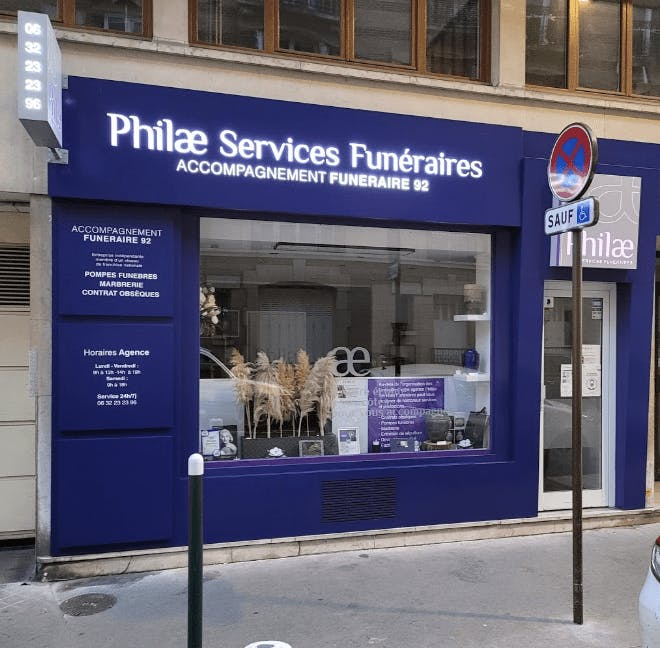 Photographie Philae Services Funéraires de Neuilly-sur-Seine