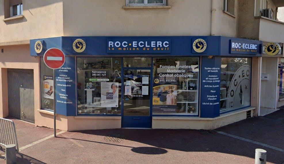 Photographies des Pompes Funèbres Roc'Eclerc à Vallauris