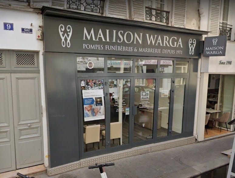 Photographies De la Maison Funéraire Roger S. Warga à Paris