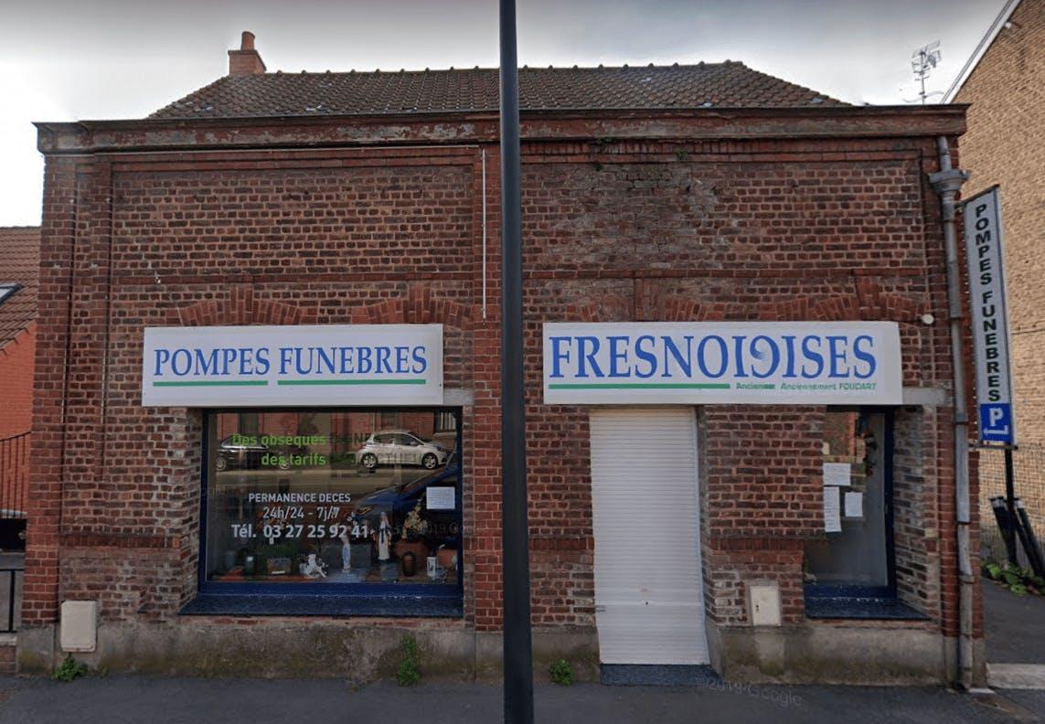 Photographie de la Pompes Funèbres Fresnoises de Fresnes-sur-Escaut