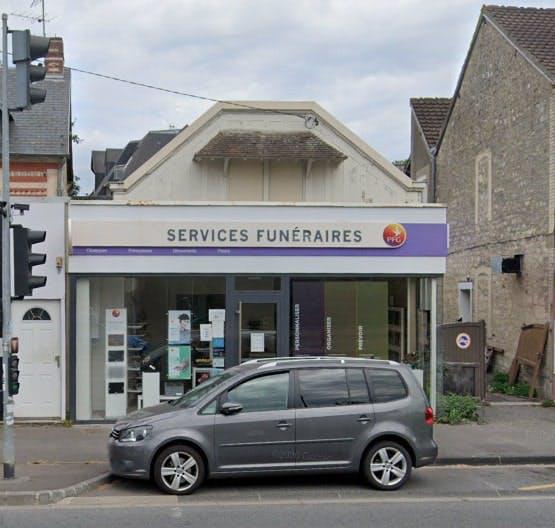 Photographies des Pompes Funèbres Genérales à Caen
