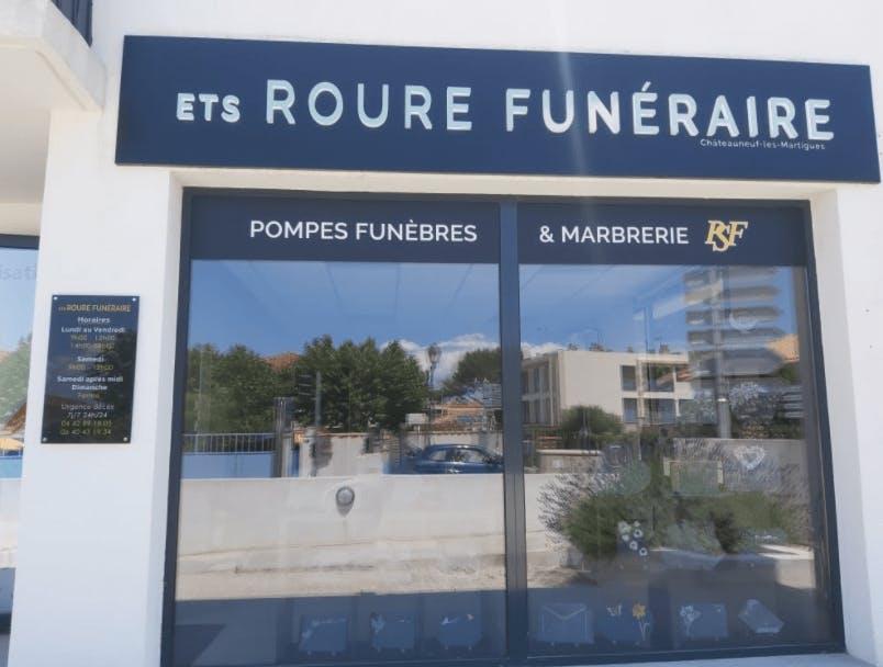 Photographie Pompes Funèbres et Marbrerie ROURE de Saint-Victoret