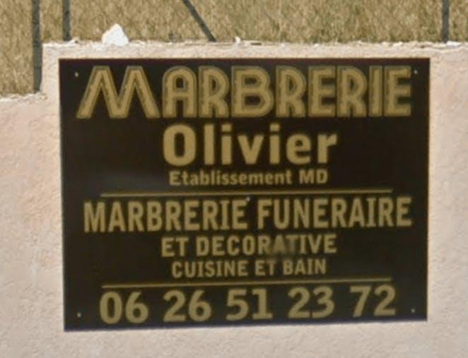 Photographie Marbrerie Olivier de Sainte-Maxime