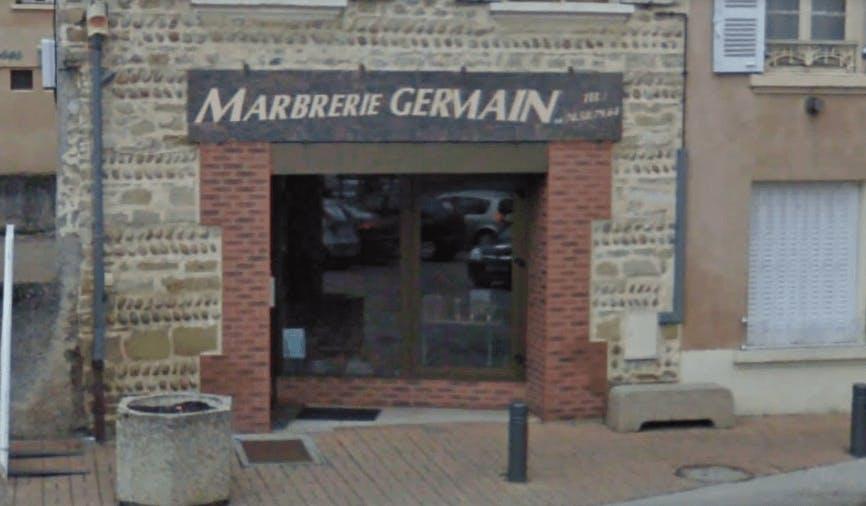 Photographie de la Marbrerie Germain à Saint-Jean-de-Bournay
