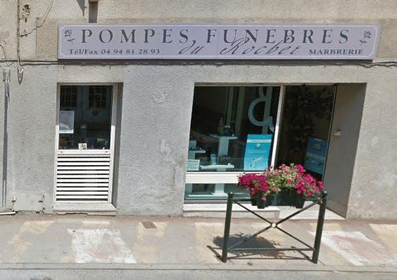 Photographie Pompes Funèbres Du Rocher de Roquebrune-sur-Argens