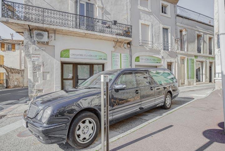 Photographie de Pompes Funèbres BRUN de la ville de Fleury