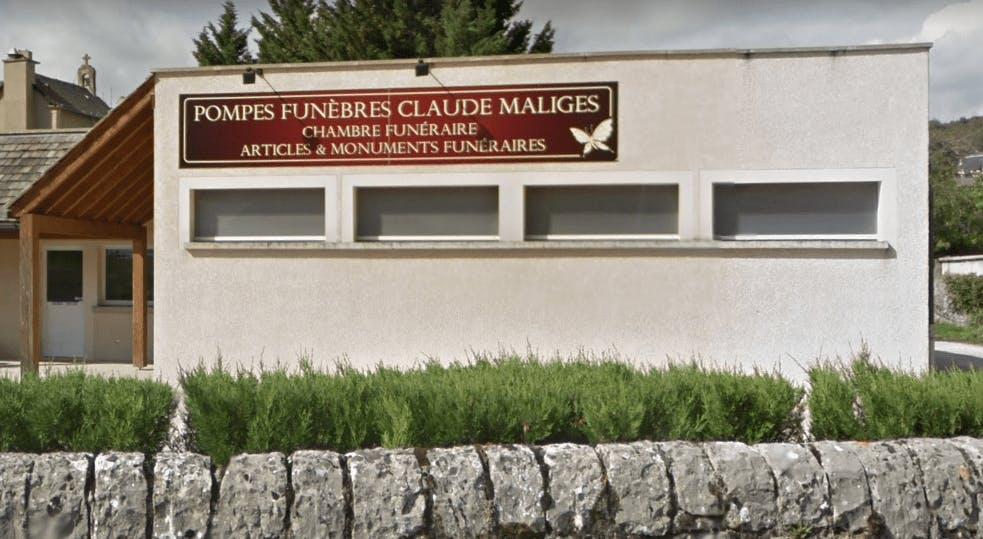 Photographie de la Pompes Funèbres Claude Maliges à Marvejols
