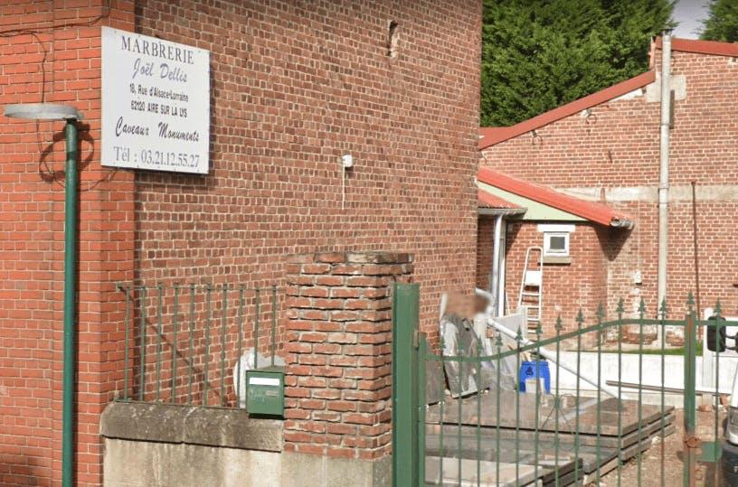 Photographie de la Marbrerie Joe Dellis à Aire-sur-la-Lys