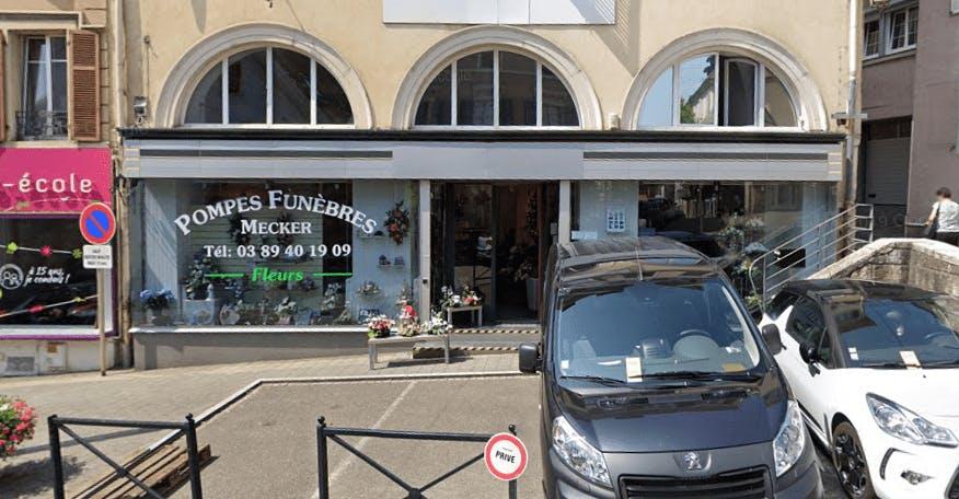 Photographie de la Pompes Funèbres Mecker à Altkirch