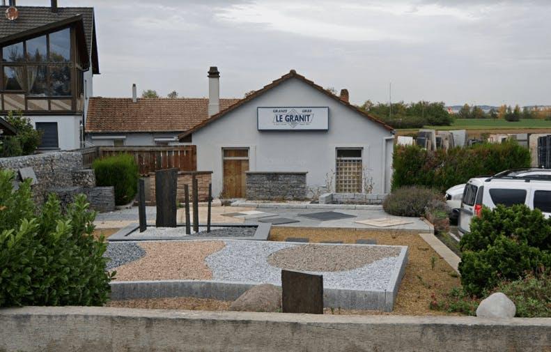 Photographie de la Marbrerie Le Granit à Hésingue