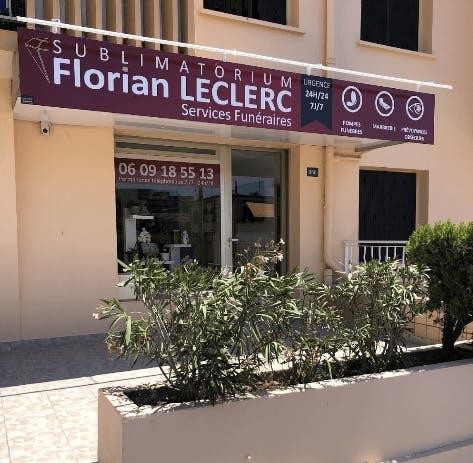 Photographie de la Pompes funèbres Sublimatorium Florian Leclerc à Antibes