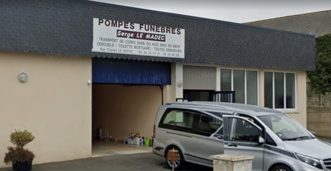 Photographie de la  Pompes Funèbres et Marbrerie Le Madec à Callac
