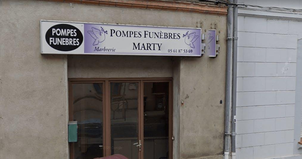 Photographie Pompes Funèbres Marty de Rieumes