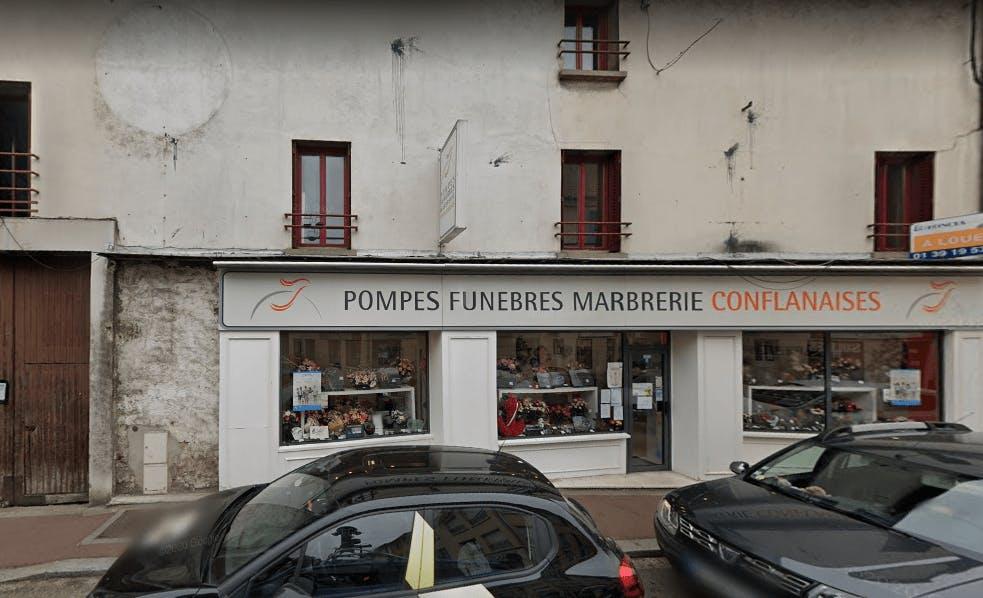 Photographie Pompes Funèbres Conflanaises de Conflans-Sainte-Honorine