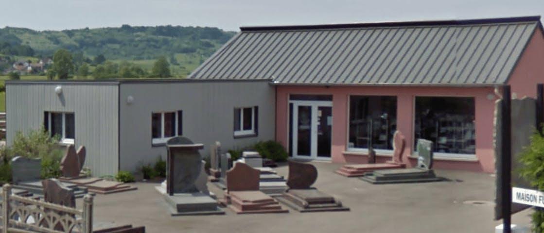 Photographie de la Pompes Funèbres et Marbrerie Didier de la ville de Jussey