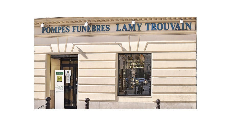 Photographie de Pompe Funèbre et Marbrerie Lamy Trouvain