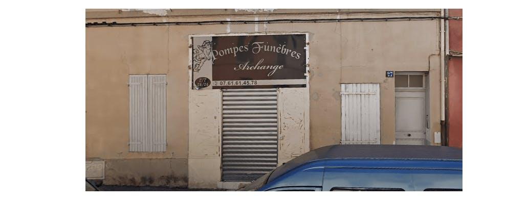 Photographie de la Pompes Funèbres Archange à Marseille
