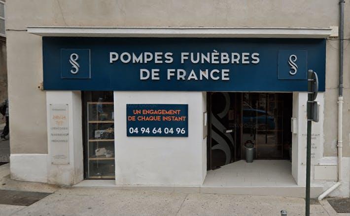 Photographie Pompes Funèbres de France du Beausset