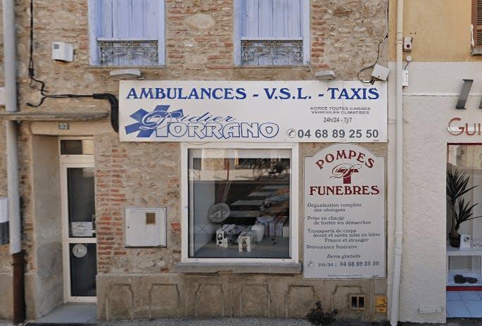 Photographie de la Pompes Funèbres Torrano à Saint-André