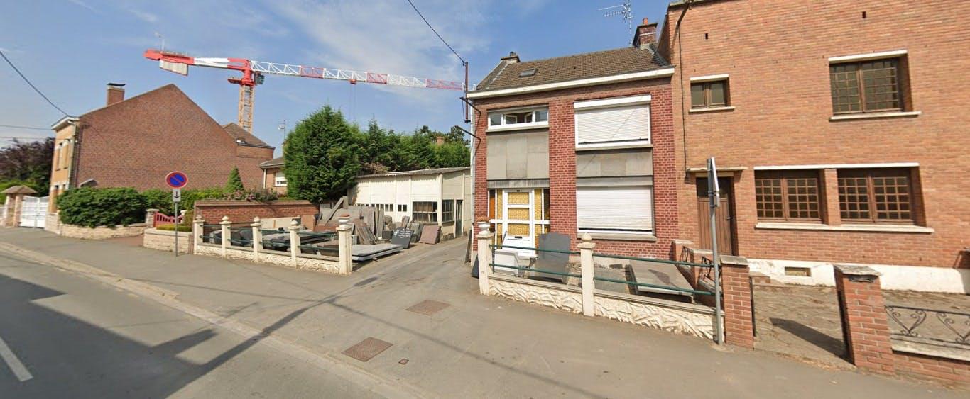 Photographies de la Marbrerie Bouquillon Yves à Sainghin-en-Weppes