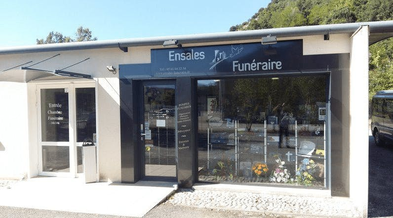 Photographie de l`Ensales Funéraire de la ville de Varilhes