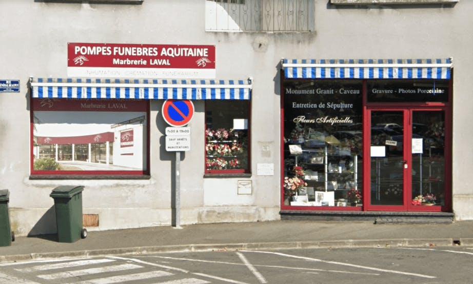 Photographie Pompes Funèbres AQUITAINE de Périgueux