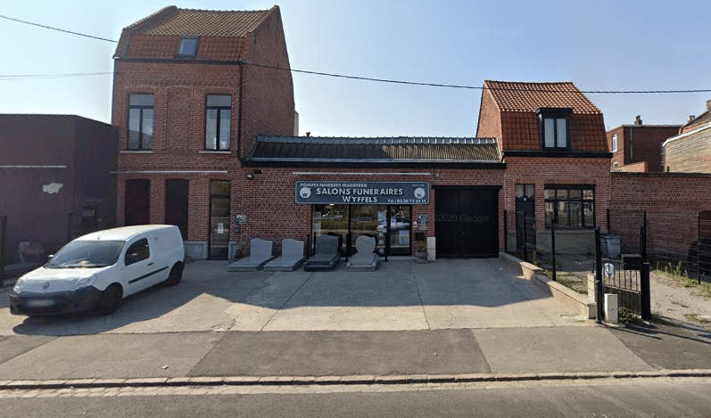 Photographie Pompes Funèbres Marbrerie Wyffels de Roubaix