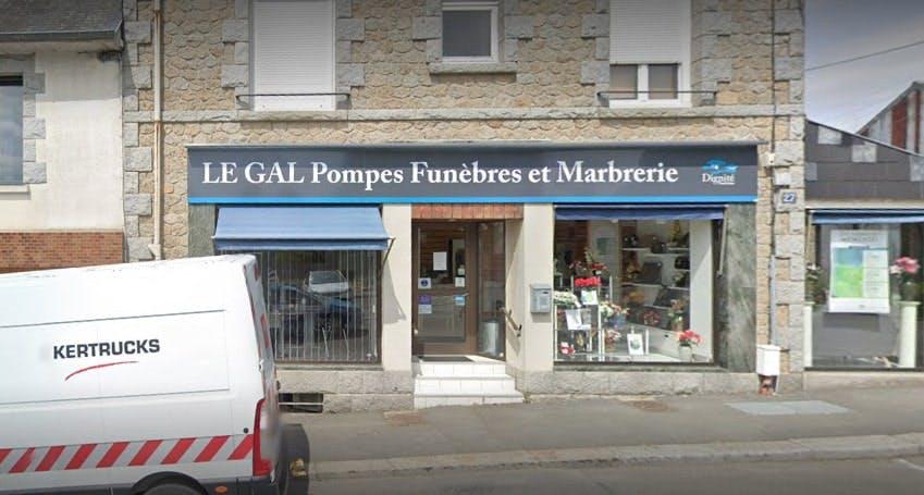 Photographies des Pompes Funèbres Marbrerie Le Gal à Fougères